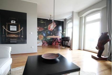 48 Park View Designer Apartment With Balcony In Downtown Mitte Classy Apartment Designers