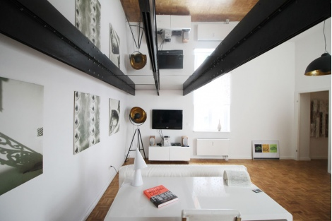 715 Loft Apartment With High Ceilings In Mitte